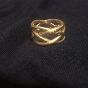 Tiffany & Co. woven band ring size 8 1/2